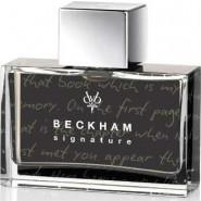 "David & Victoria Beckham ""Signature story for him"""